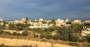 Ein Blick über Akko, Israel