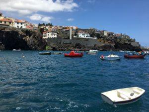 Fischerbötchen in Camara de Lobos auf Madeira