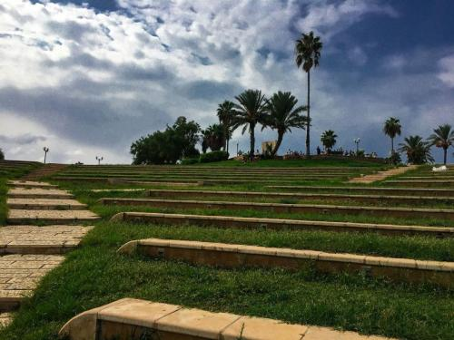 Ein kleiner Park in Tel Aviv-Jaffa. Perfekt für eine kleine Pause